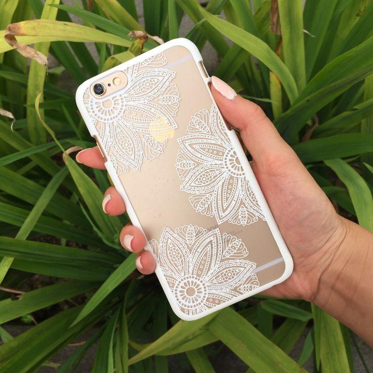 White Kaleido-Trio Phone Case