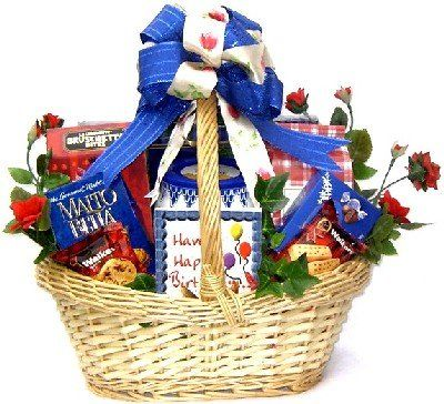 Gourmet Sweets and Birthday Treats   Birthday Gift Basket for Men or Women! -- To view further for this item, visit the image link.