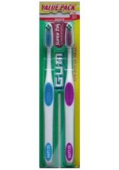 GUM Toothbrushes 2 pk $2 each (Limit 3) Pay $2, Get $2 ECB Final Price: Free!