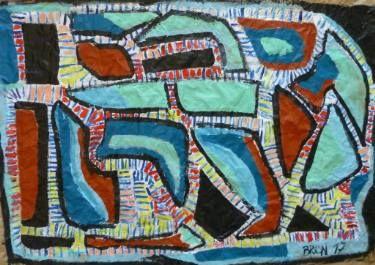 "Saatchi Art Artist Celine BRON; Painting, ""Inscobra"" #art"