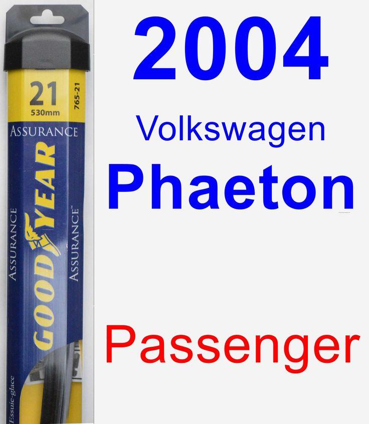 Passenger Wiper Blade for 2004 Volkswagen Phaeton - Assurance