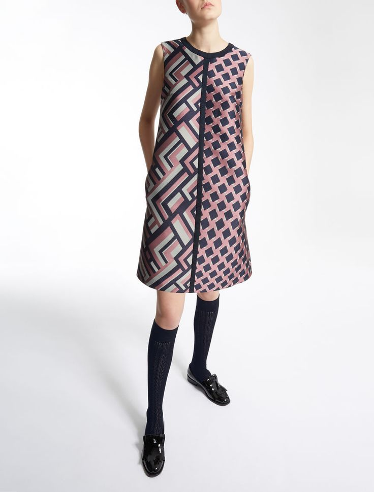 Max Mara DAX pink: Jacquard dress.