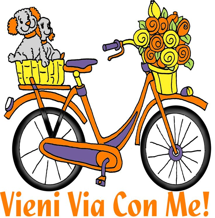 Bicicletta Disegni Illustrazione