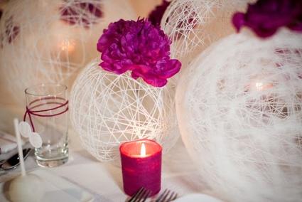 DIY modern wedding decorations ...GORGEOUS!!