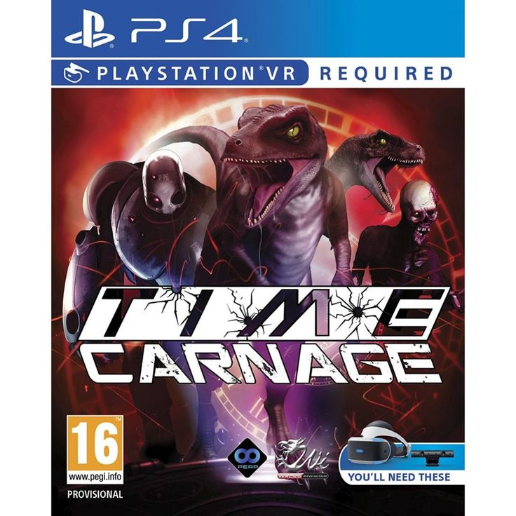 Learn about Wreak Havoc through the Ages as Time Carnage Heads to PlayStation VR Oculus Rift & HTC Vive http://ift.tt/2Euyg0t on www.Service.fit - Specialised Service Consultants.