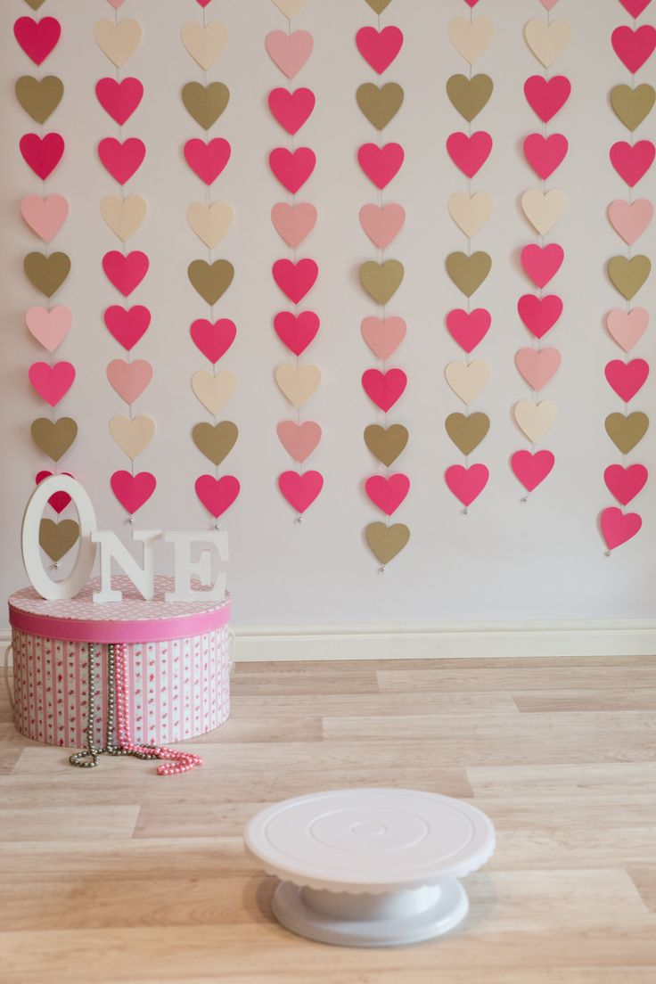 Heart string curtain backdrop by Jaqui Franco Photography