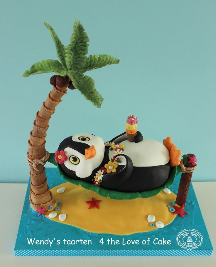 17 Best Images About Penguin Cakes On Pinterest