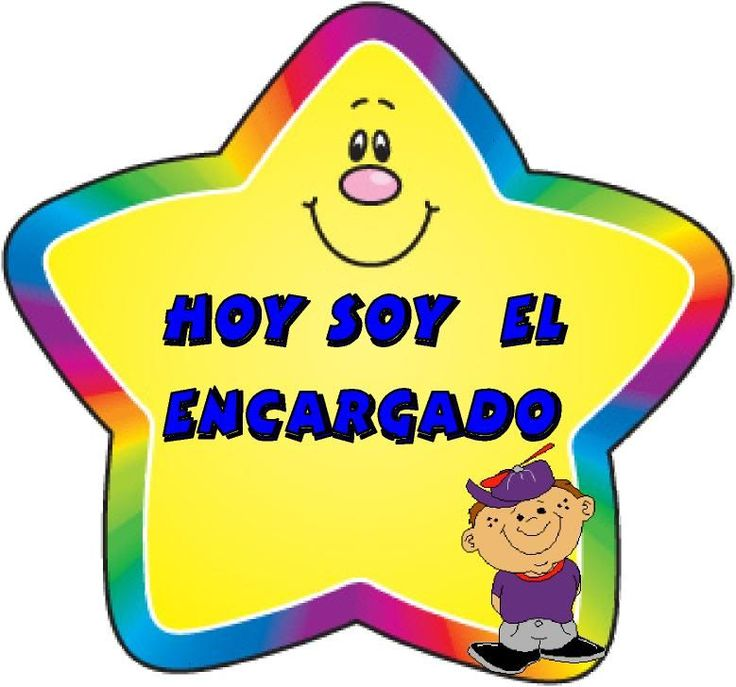 Menta Más Chocolate - RECURSOS y ACTIVIDADES PARA EDUCACIÓN INFANTIL: ENCARGADOS