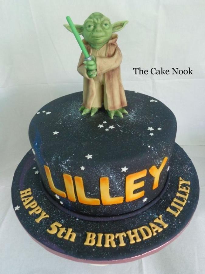Yoda Cake - Cake by Zoe Robinson
