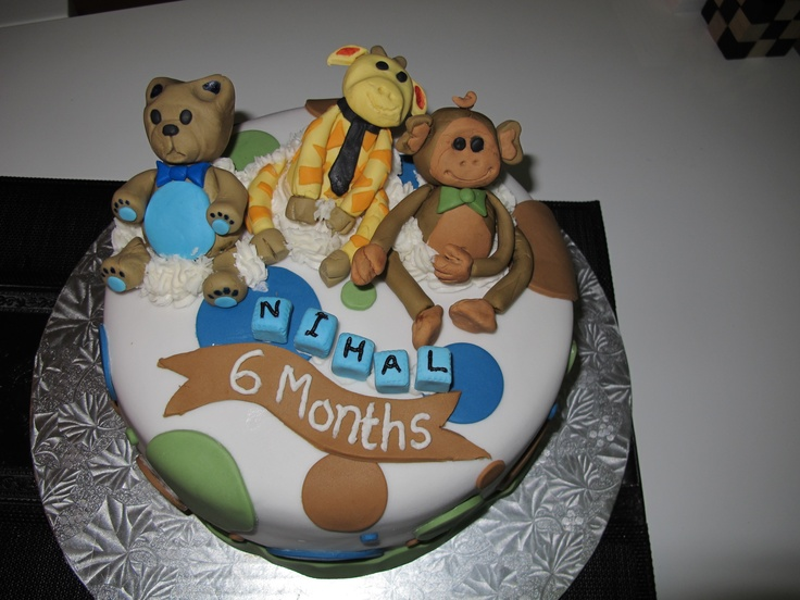 196 best Half Birthday Cakes images on Pinterest Half birthday