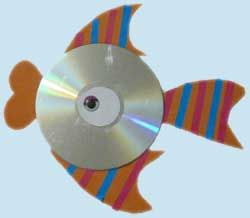 Are you looking for something to do with all those old CD-Rs you have lying around the house? This probably isn't it.