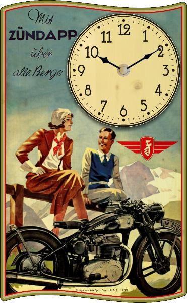 Vintage-Uhr Zündapp