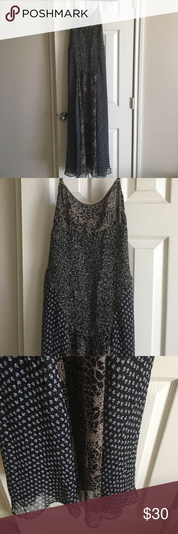Free people maxi dress Free people maxi dress, took the label off about 4 yrs about but it is Free People size M, has a strap that needs to be fixed or we're it as I did just looped thru and tied in a knot Free People Dresses Maxi