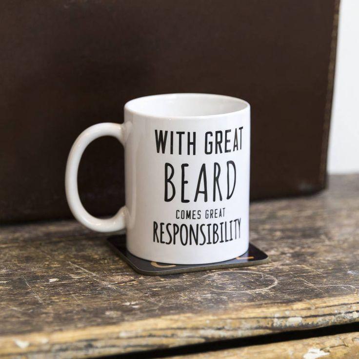 'Great Beard' Man Mug