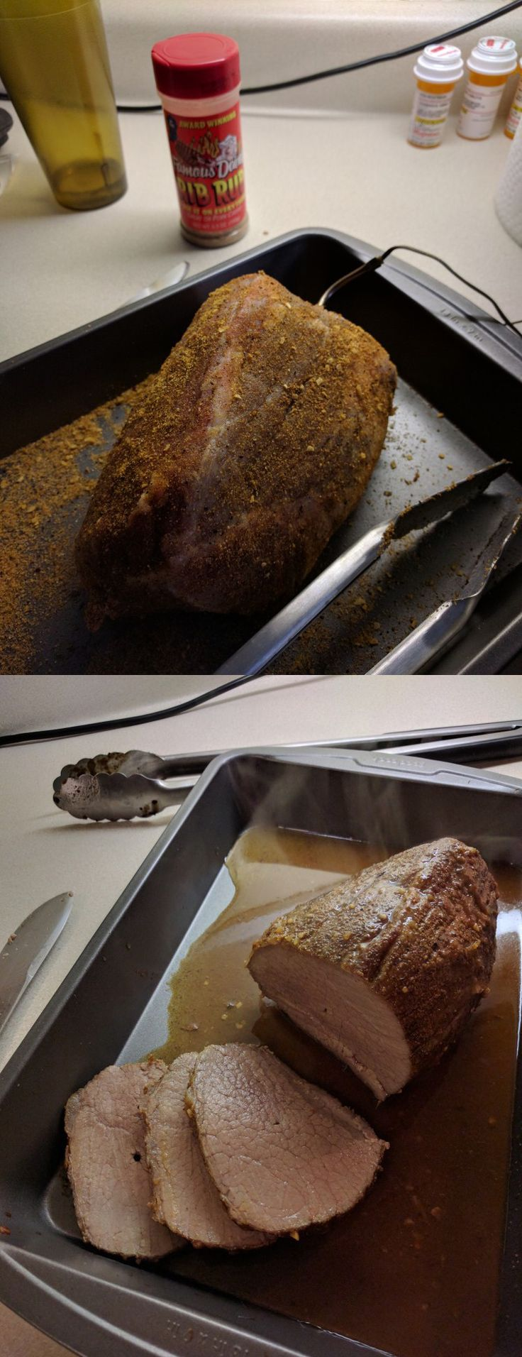 how to cook inside round roast on bbq