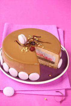 Verdade de sabor: mirtillo e torta di mele con cioccolato al latte e cannella / Torta de mirtilo, maçã e cioccolato ao leite com canela