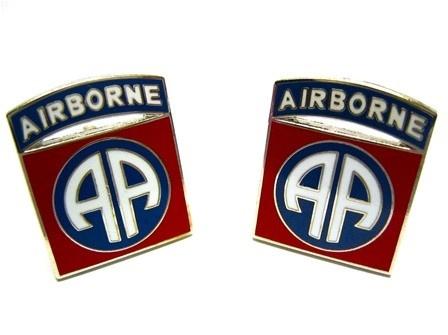 U.S Army 82nd 82 nd Airborne Division Cufflinks - Military Cufflinks - Cufflinks