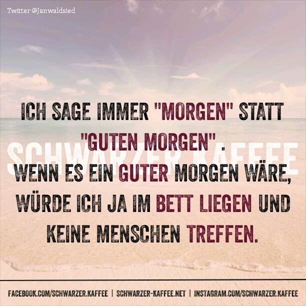 MORGEN - SCHWARZER-KAFFEE