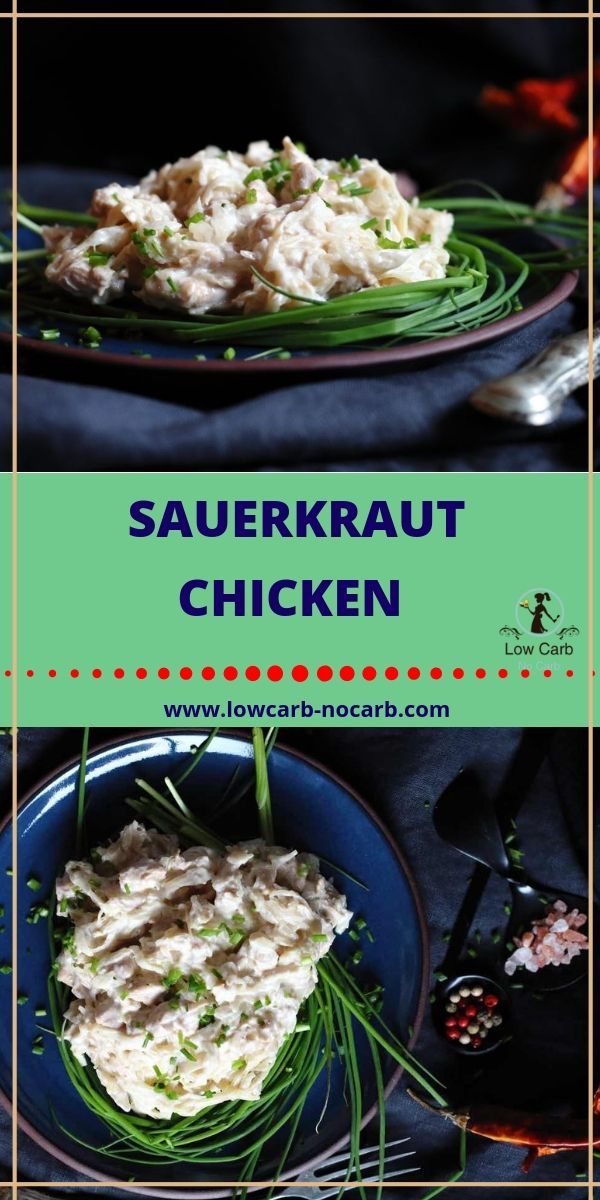 Low Carb Sauerkraut Chicken Recipe Healthy Eatingdrinking