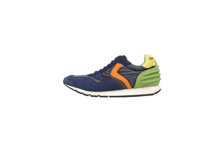 Voile Blanche LIAM POWER - sneaker con borchie - blu - Uomo - Collezione