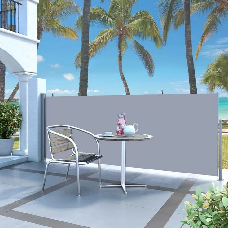 Keesler 3m w retractable side awning in 2020 patio