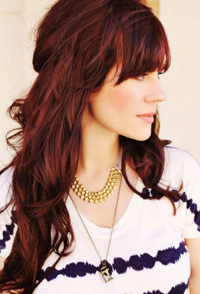 Coloration rouge bordeaux la couleur de cheveux prune qui me va