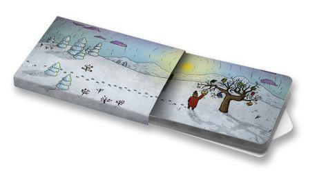 Zima  #zima #winter #ilustration #ilustrace #ChewingGums #žvýkačky #CharityGums