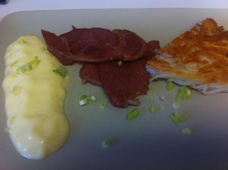 Sous vide scrambled egg. | Snacks, brunch, breakfast | Pinterest