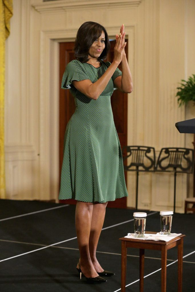 Michelle Obama Proves a Great Dress Deserves to Be Worn More Than Once