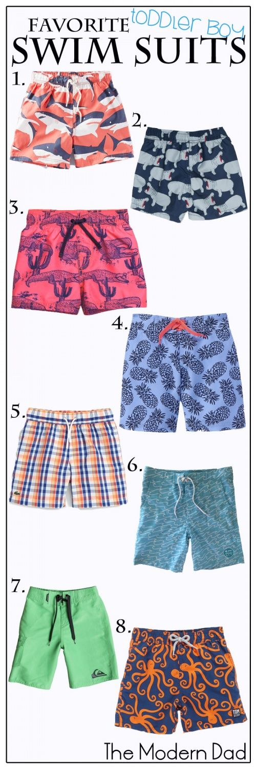 Favorite Baby & Toddler Swimsuits by The Modern Dad