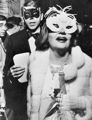 Tallulah Bankhead at Truman Capote's famous Black and White Ball.
