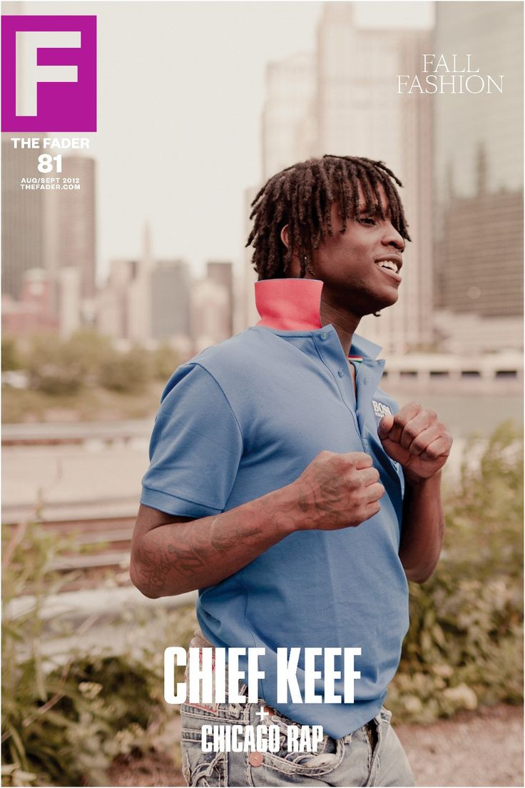 """Get this, 20"""" x 30"""", Chief Keef poster featuring the cover artwork of The FADER Issue 81. *Please note: order will be processed immediately upon receipt, we will not be able to cancel or change your o"""