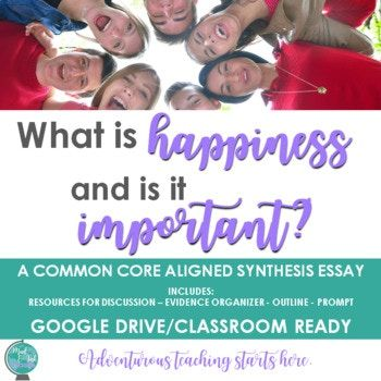 What is Happiness and is it Important? {A Inquiry-Based Sy