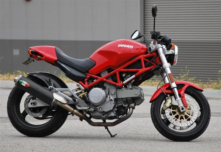 ROSSODUCATI — Monster 620 with red frame