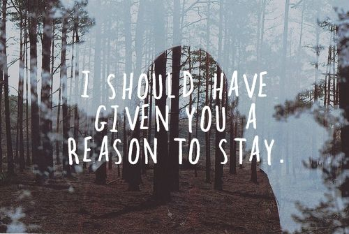 i should have given you a reason: Ter Dado, A Lack Of Colors, Stay, Inspiration, Quotes Blog, Favorite Quotes, Reasons, Death Cab, Dcfc Lyrics