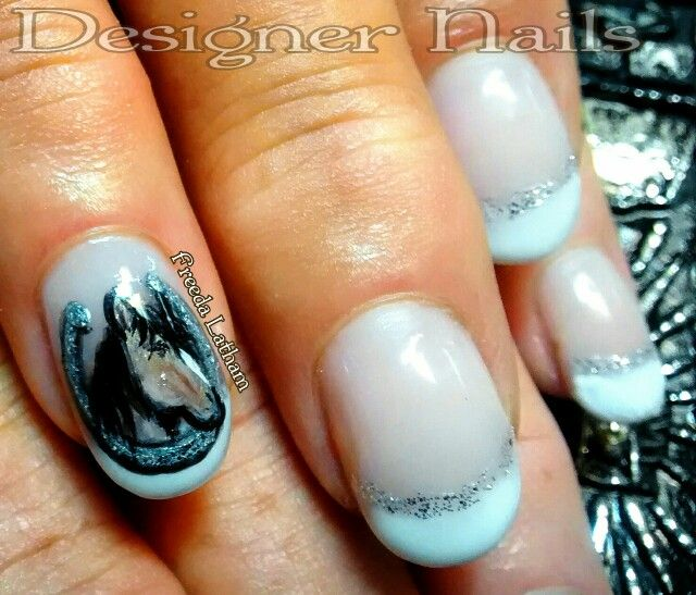 Horse portrait and horseshoe - 7 Best Horse Nail Art Designs Images On Pinterest Horse Nail Art