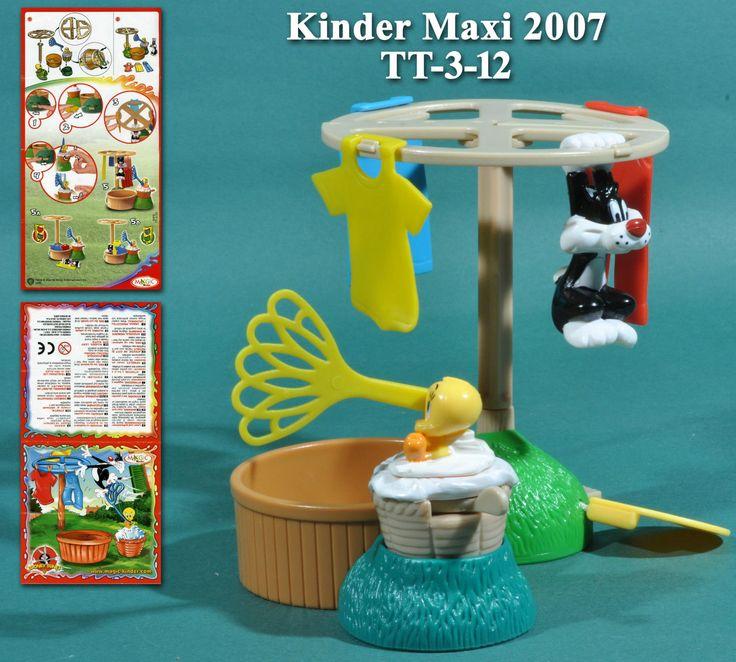 Kinder Maxi Europe 2007 Lessive Titi Et Gros Minet TT 3 12 BPZ | eBay