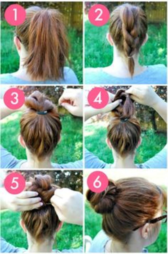 Everyday Hairstyle Hair Bun Everyday Hairstyles Curly