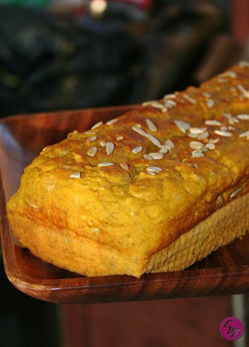 Pan de calabaza o zapallo | #Receta de cocina | #Vegana - Vegetariana ecoagricultor.com