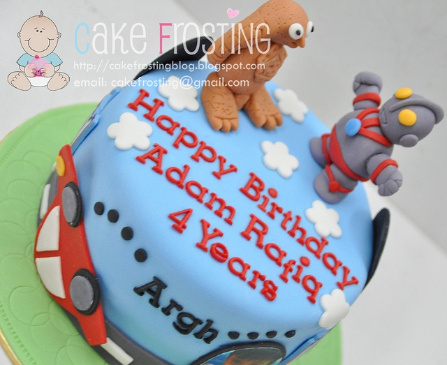 Ultraman Cake by Cake Frosting, via Flickr