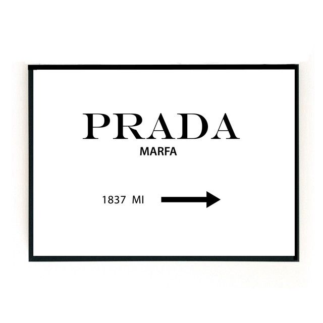 die besten 25 prada marfa ideen auf pinterest. Black Bedroom Furniture Sets. Home Design Ideas