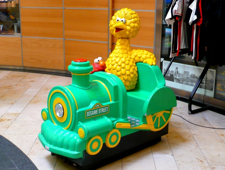 Sesame Street coin-operated rides | Coins, The o'jays and ...
