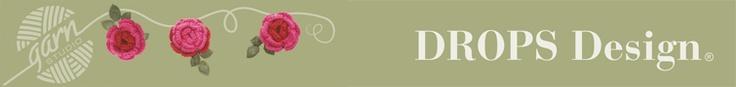DROPS Design banner   videos  de tejido!!