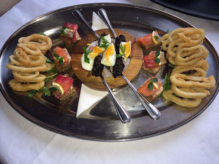 A sharing tapas platter for Irish Food trail
