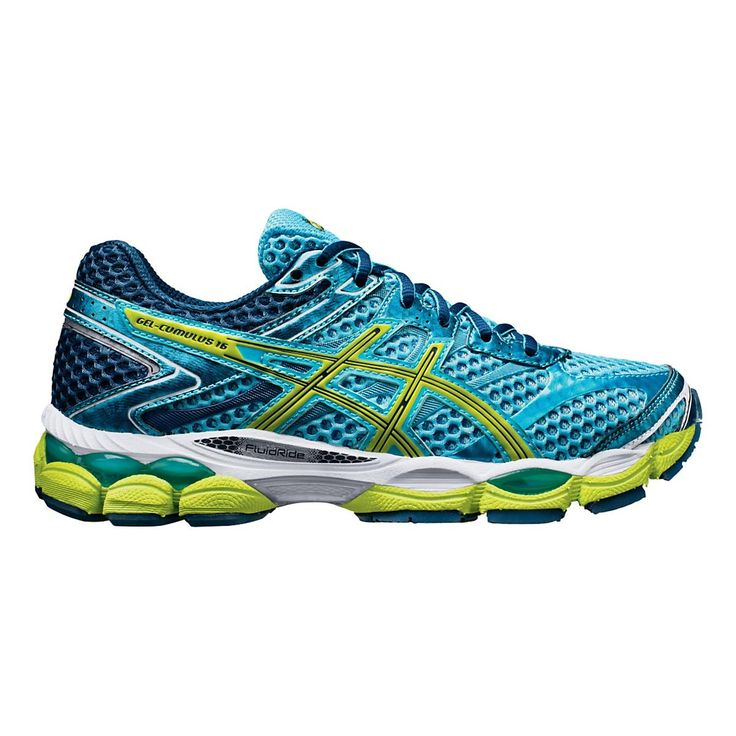 Float effortlessly through every run, feeling lighter and more cushioned than ever in the newly updated Womens ASICS GEL-Cumulus 16