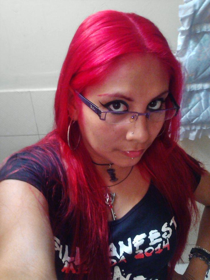 gorjeo masaje cabello rojo