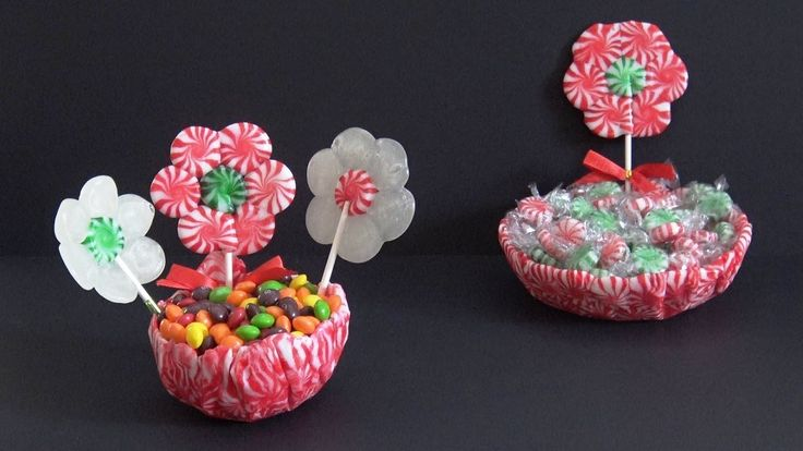 Comment faire un Bol avec des Bonbons 🍬 DIY avec des bonbons 🍬. YOUTUBE: katehacks. FACEBOOK: @katehacks.