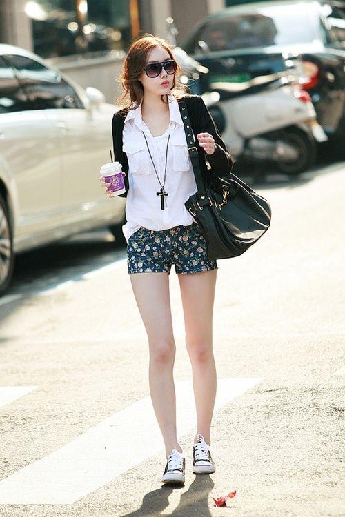 Korean Fashion Style.....summer | Korean Fashion Style ...Korean Girls Summer Fashion Style