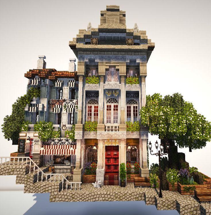 Minecraft city building building minecraft