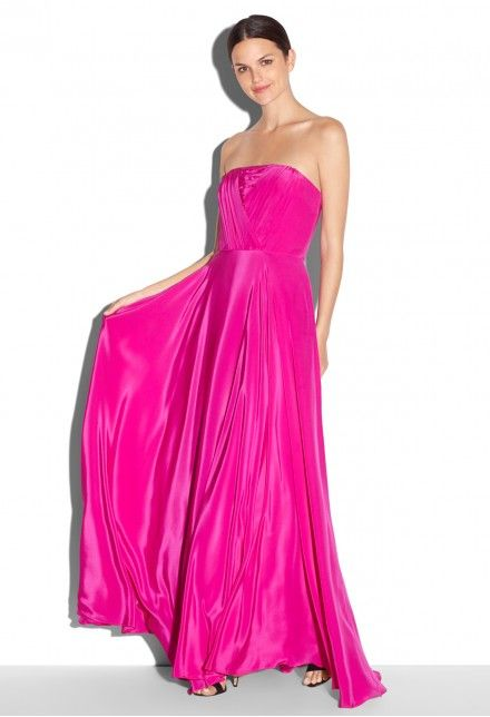 MONICA STRAPLESS MAXI   MILLY